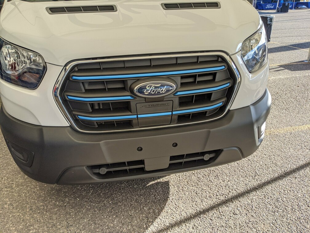 E-Transit Front Grill